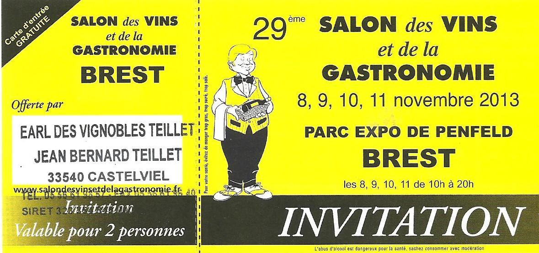 Salon des vins et de la gastronomie for Le salon de la gastronomie