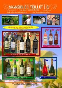 2015_plaquette vins Vignobles TEILLET