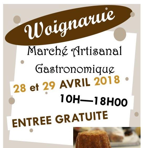 Marché artisanal et Gastronomique à Woignarue