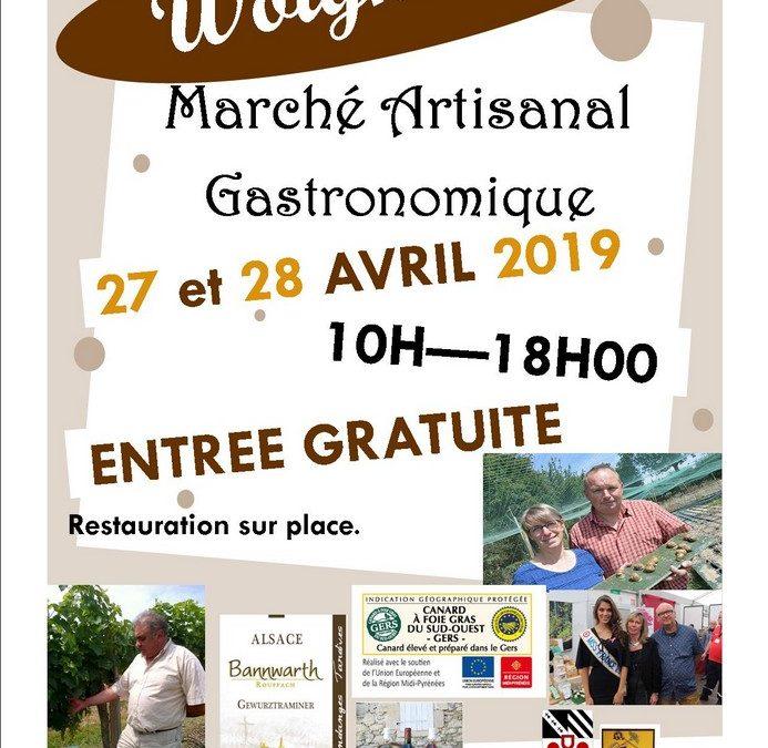 Marché artisanal-Gastronomique à Woignarue 27 & 28 Avril 2019
