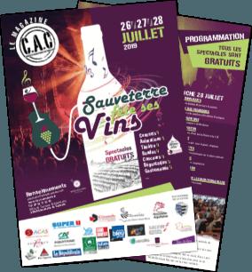 Fête des vins Sauveterre de Guyenne 2019