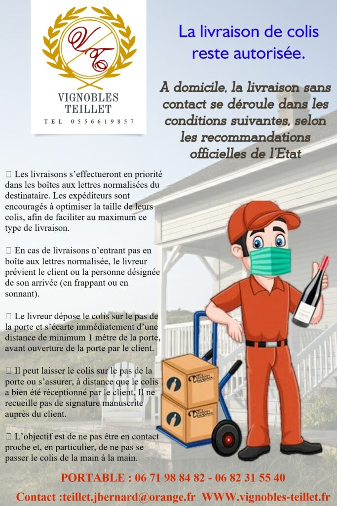 Guide de livraison COVI19