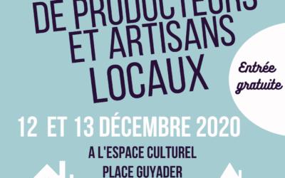 Marché à l'Espace Culturel de Saint Renan le week-end du 12 et 13 décembre !
