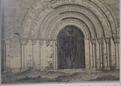 Portail Eglise CASTELVIEL 1845
